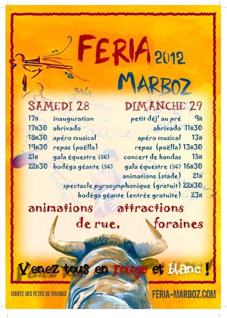 Féria 2012 Feria-flyer_hd-verso-1