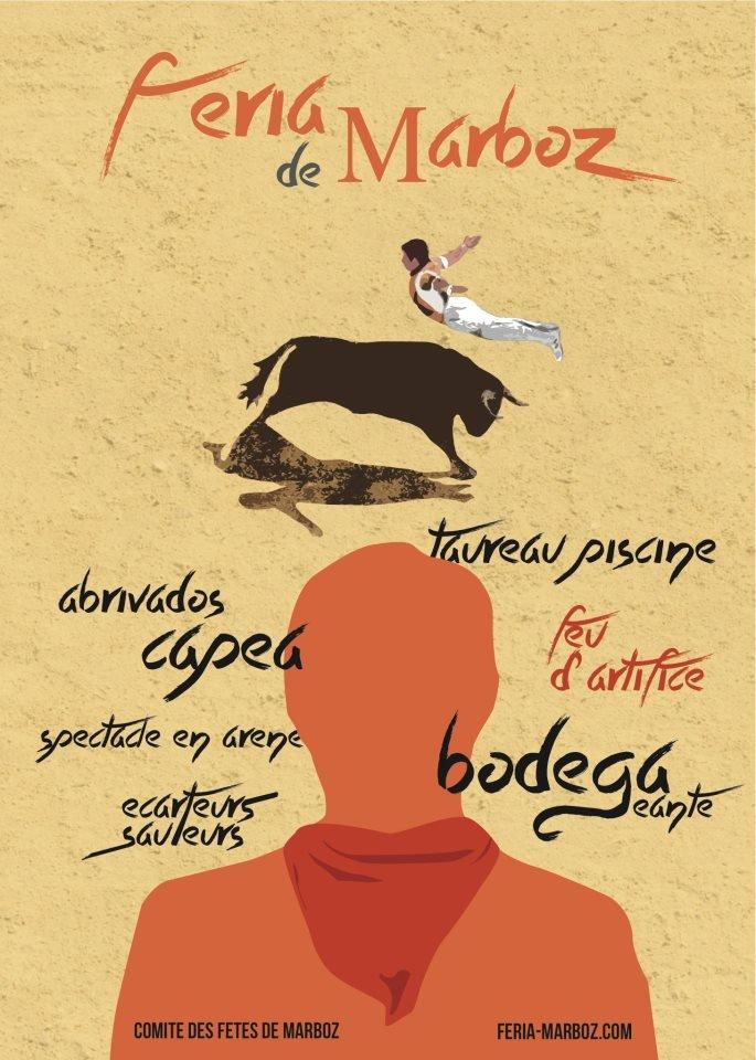 PROGRAMME DE LA FERIA DE MARBOZ    27-28 JUILLET 2013 521769_418622844890798_930061958_n